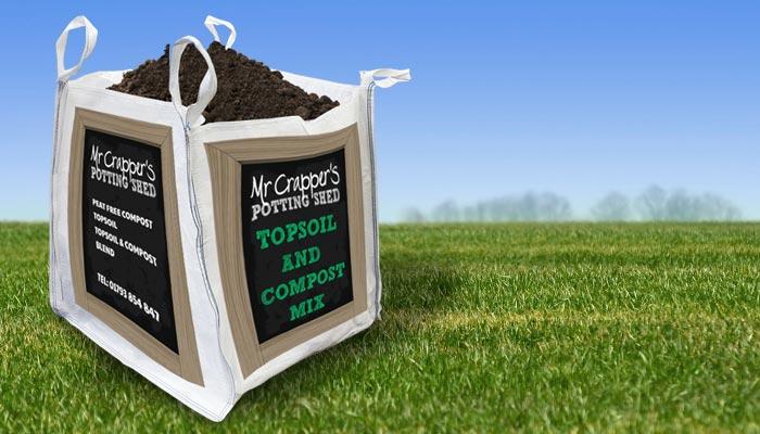 Topsoil & Compost Blend